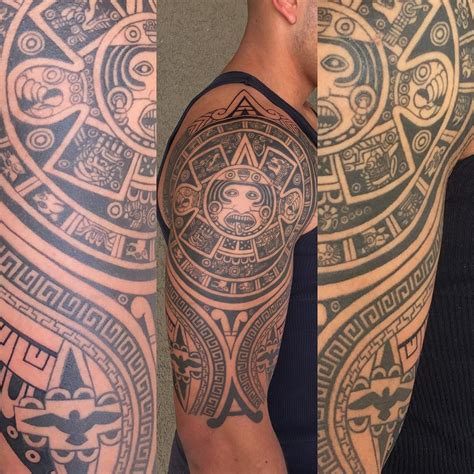 aztec sun tattoo 28 ornamental aztec designs ideas design trends