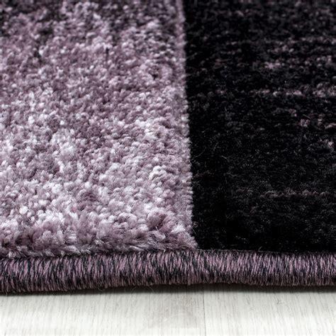 brown and purple rug modern contemporary black grey brown purple grey swirls squares quality rug ebay