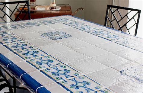 piastrelle deruta tavoli in cotto e maiolica nicol 242 giuliano ceramiche e
