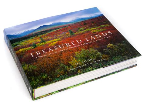 treasured lands a photographic odyssey through america s