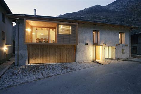 scheune wohnraum bauen im bestand umgebaute scheunen in der schweiz