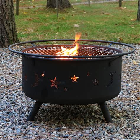 Pit Chiminea Combo Large Cosmic Pit Or Pit Cooking Grill Combo