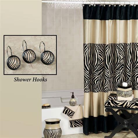 Bathroom accessories zebra print folat