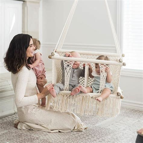 twin baby swing sets 25 best ideas about baby swings on pinterest outdoor