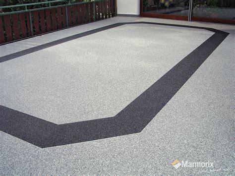steinteppich terrasse marmorix 174 steinteppich verlegebeispiele au 223 enbereich