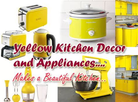 yellow kitchen appliances yellow kitchen appliances accessories and best decor ideas