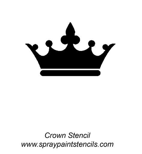 printable crown stencil http www spraypaintstencils com a zlis