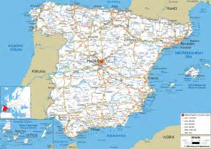 Map If Spain by Maps Of Spain Detailed Map Of Spain In English Tourist