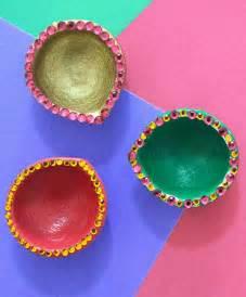 Handmade Diya Decoration - diwali diy ideas simple easy ideas lifestyleblogger