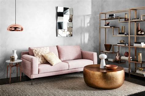 pink sofa com au the millennial pink trend hits decor and it s amazing
