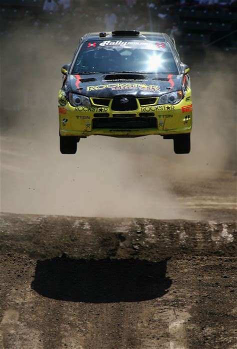 subaru rally jump cleared for take off awesome rally car pics zimbio