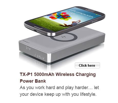 Luxa2 Wireless Receiver For Samsung S3 4 Note 2 3