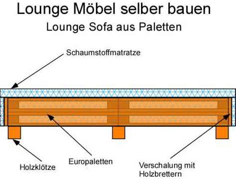 lounge möbel selber bauen anleitung mobel aus europaletten selber bauen alle ideen 252 ber home