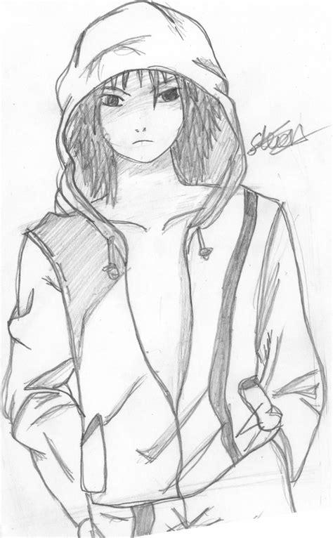 Anime Boy Sketch By Flashtheteddy On Deviantart Boy And Anime Drawing