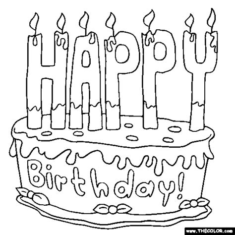 free printable birthday cards nz happy birthday cake 2 online coloring page drawings