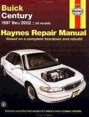 small engine repair training 2002 buick century engine control 1997 2005 buick century repair manual haynes repair manual
