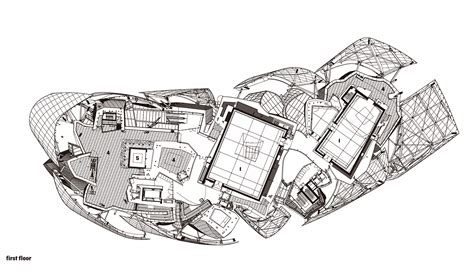 frank gehry floor plans the new foundation louis vuitton by frank gehry rises in