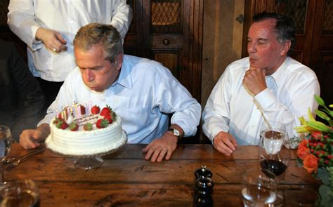 george w bush birthday happy birthday george w bush a look back at some of his