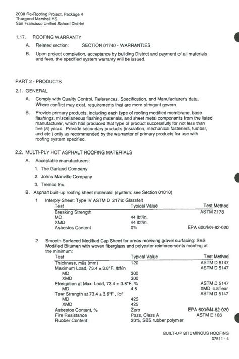 Guarantee Letter For Project roofing warranty letter roofing contract template free