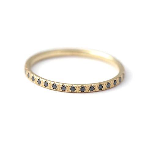 Black Diamond Eternity Ring ? ARTEMER