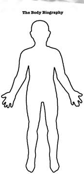 human figure template human outline printable cliparts co