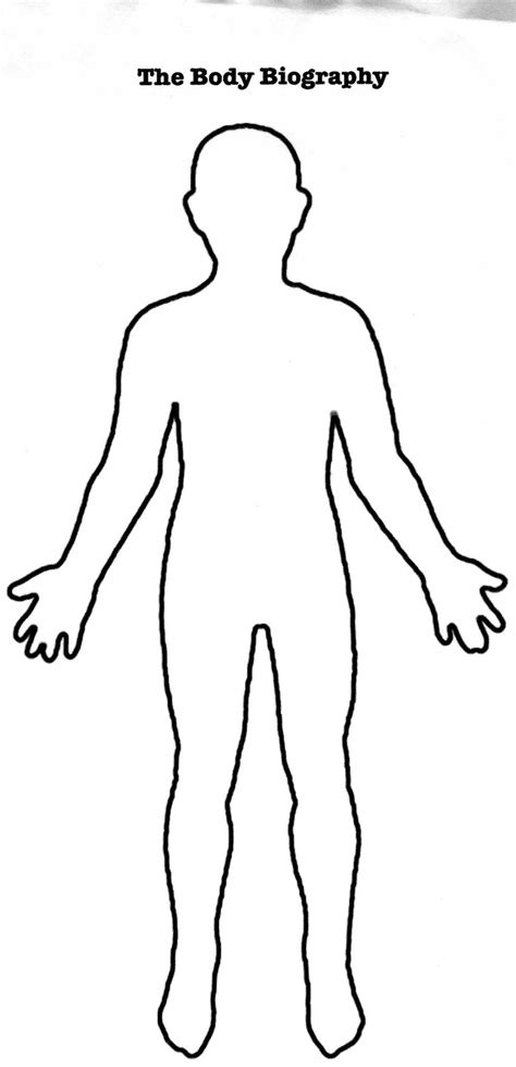 outline   person clipart clipground