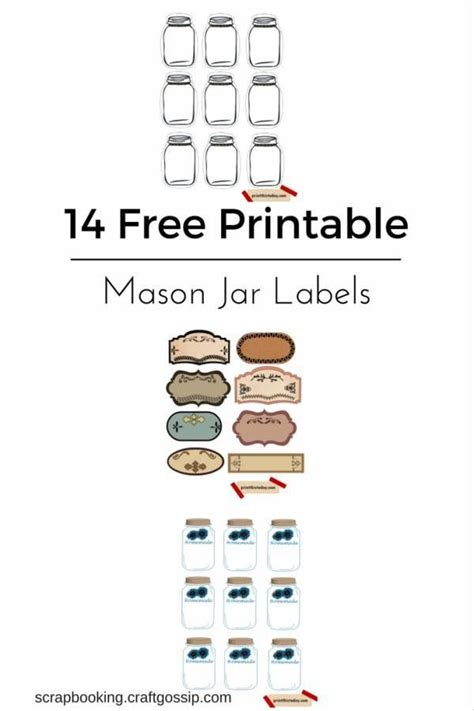 17 Best Images About The Best Free Diy Printables On Pinterest Free Printable Calendar Free Donation Jar Label Template