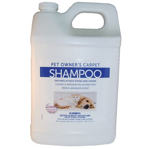 kirby rug cleaner kirby 237507s carpet foaming shoo for pet owners 1 gal genuine