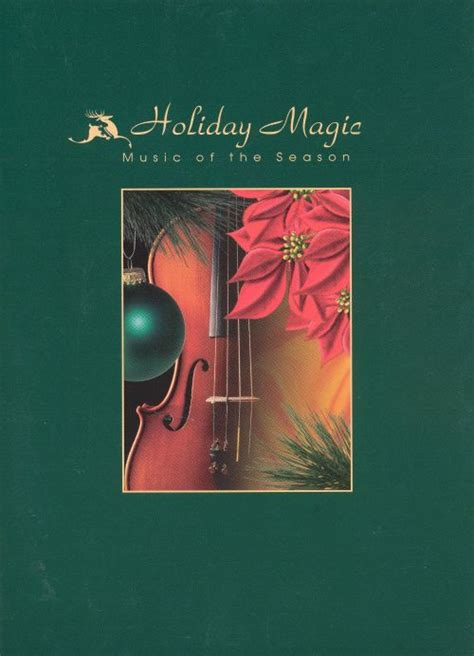 holiday magic    season bmg greeting card cd  artists songs reviews