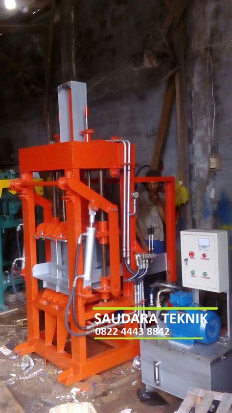 Jual Mesin Cetak Batako Jakarta jual mesin press batako dan paving block saudara teknik