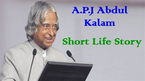 apj abdul love story apj abdul kalam short life story in hindi by ksk youtube