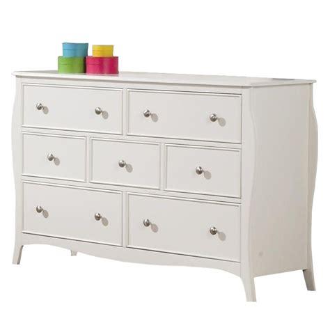 7 Drawer Dresser White by Coaster Dominique 7 Drawer Dresser In White Finish