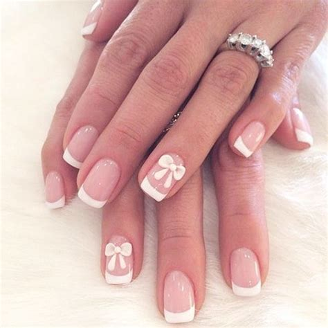 Manicure Design by 16 White Tip Nail Designs Different Manicure