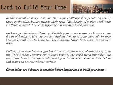 things to know when buying your first house 8 things to know before buying land to build your home