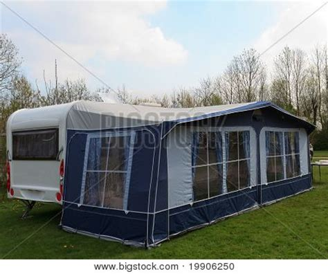 tent trailer awning travel trailer awning tent image photo bigstock
