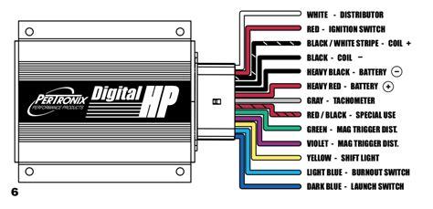 fitech wiring wcdi box  petronix distributor vintage mustang forums