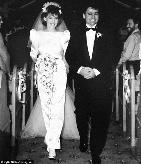 Kylie Gillies celebrates 25 years of marriage with an '80s
