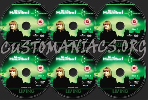 Hunted Nirvana Series 2 Volume 2 forum tv show scanned labels page 132 dvd covers