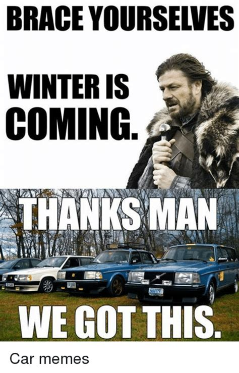 subaru winter meme 25 best memes about brace yourselves winter is coming