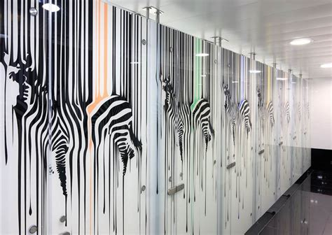 Window Wall Sticker israel s dip tech digital in glass printing changes the