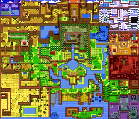 legend of zelda tilemap zelda fanmap by noctalaty on deviantart