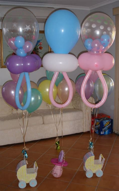 Baby Shower Decorations by Baby Shower Balloons Best Baby Decoration
