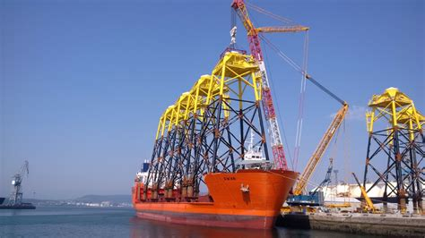 Contract Builder navantia delivers jackets for wikinger owf subsea world news
