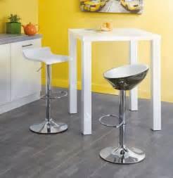 table blanche haute de cuisine conforama photo 7 10