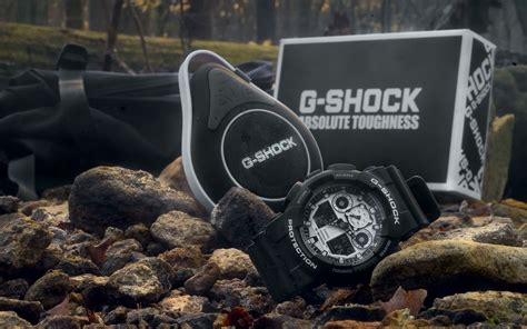 G Shock Black Box Exclusive g shock box set ga 100bw 1abt with bluetooth speaker