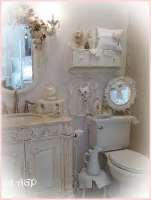 Shabby Chic Bathroom Ideas Shabby Cottage Chic Shelf And More Bathroom Makeover Pics