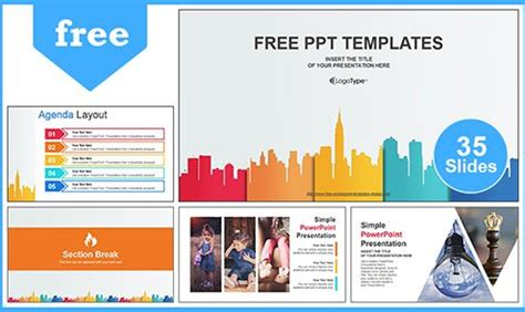 Free Simple Powerpoint Templates Design Best Business Ppt Templates