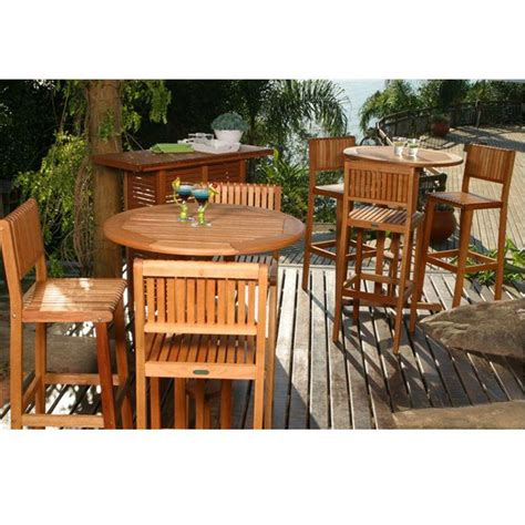 amazonia ibiza  piece patio bar set bt barset  home