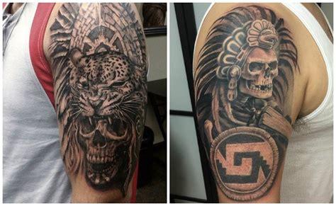 tattoos aztecas calendario azteca en el brazo newcalendar