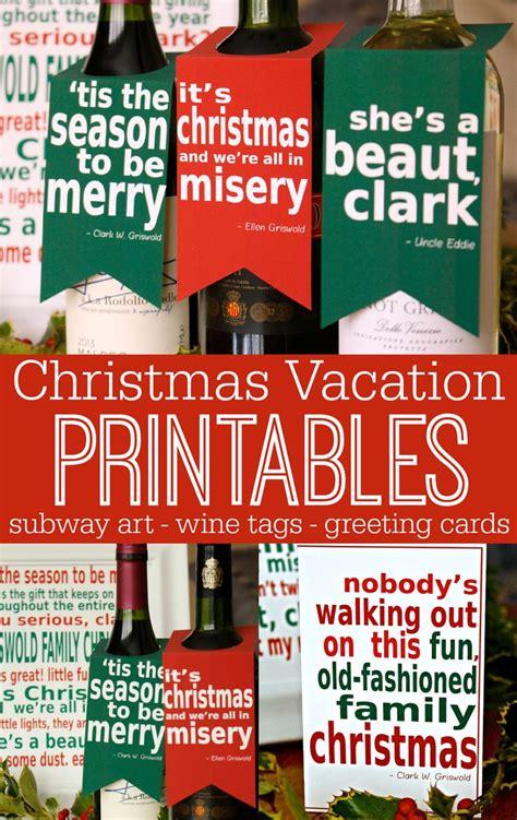 printable christmas vacation quotes national loons christmas vacation movie printable